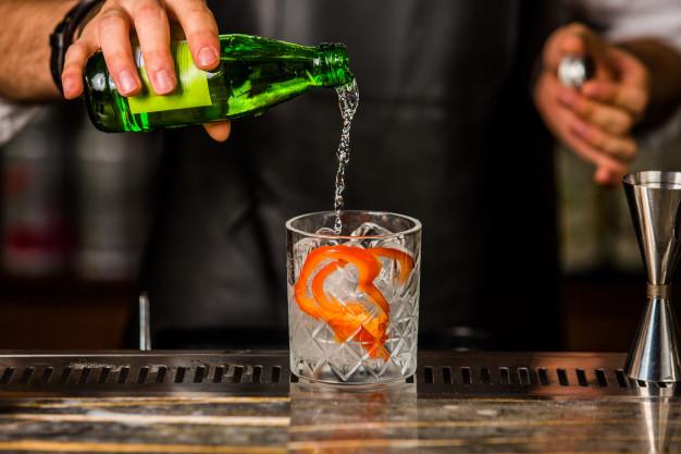 gin og tonic